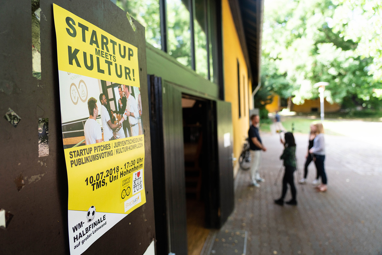 Start-Up meets Kultur(-Komplizen) – das Finale der Start-up Garage Hohenheim 2018
