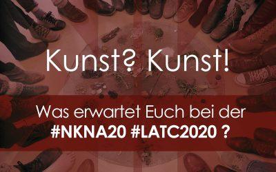 Kunst bei der NKNA20 / LATC2020